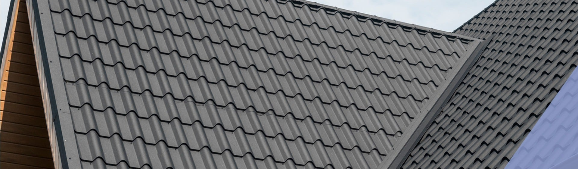Roof with klober Dry Verge and Valley products